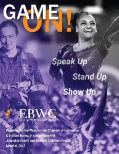 East Bay Women's 2018 Conference Cover