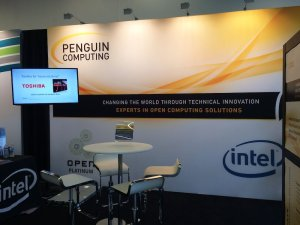 Penguin Computing GTC16 Booth Tundra Rack