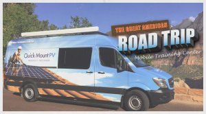 Quick Mount PV- Great American Road Trip Mobile Training Van Campaign