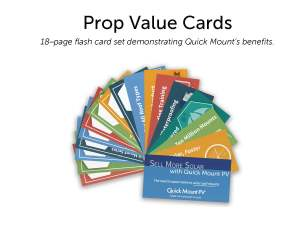 QMPV Prop Value Cards