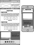 Website UX Wireframe