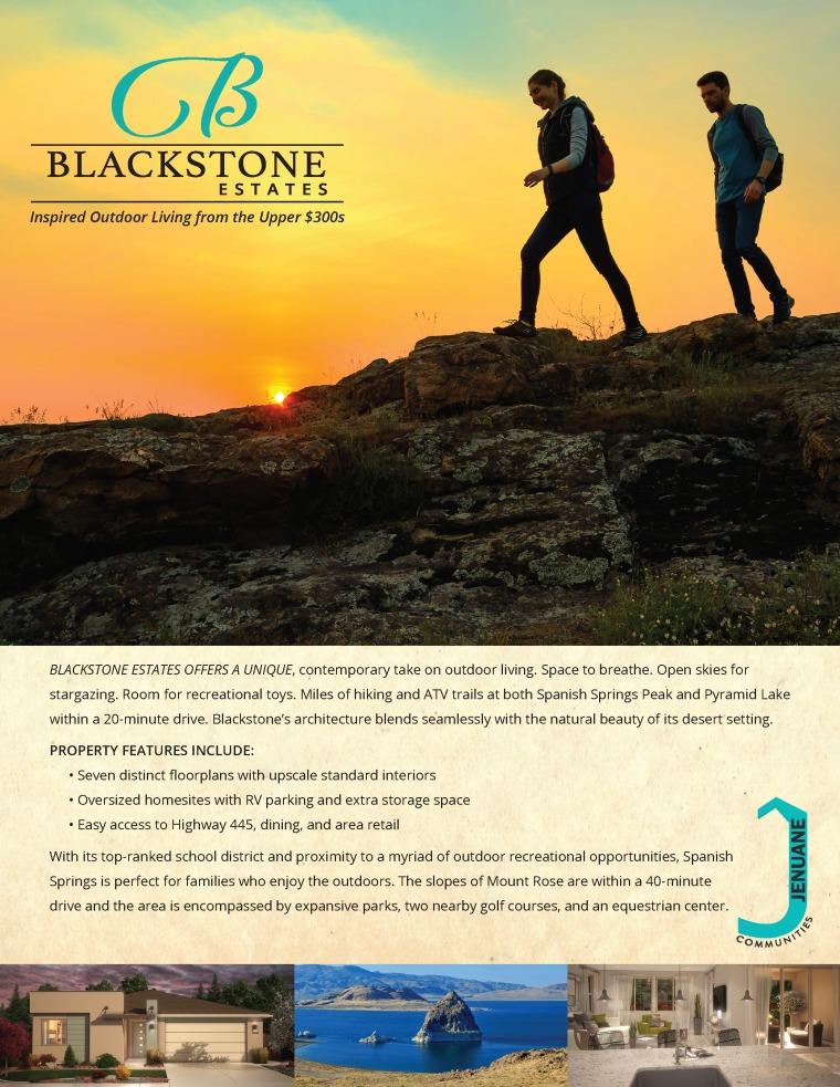 Cover Page for Blackstone Estate's Brochure